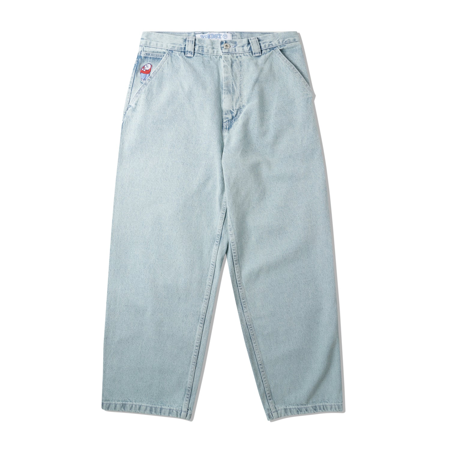 Big Boy Work Pants, Light Blue