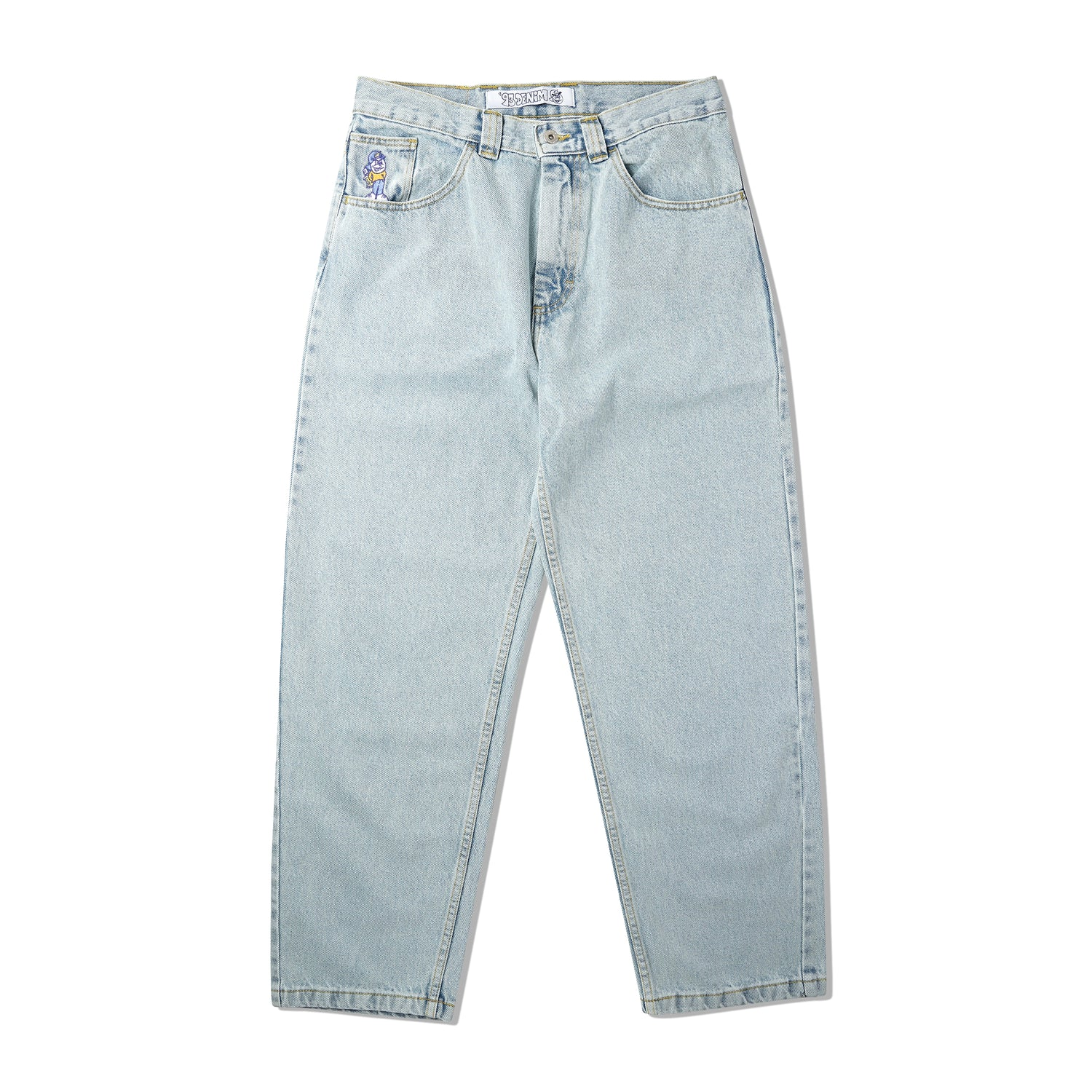 '93 Denim Pants, Light Blue