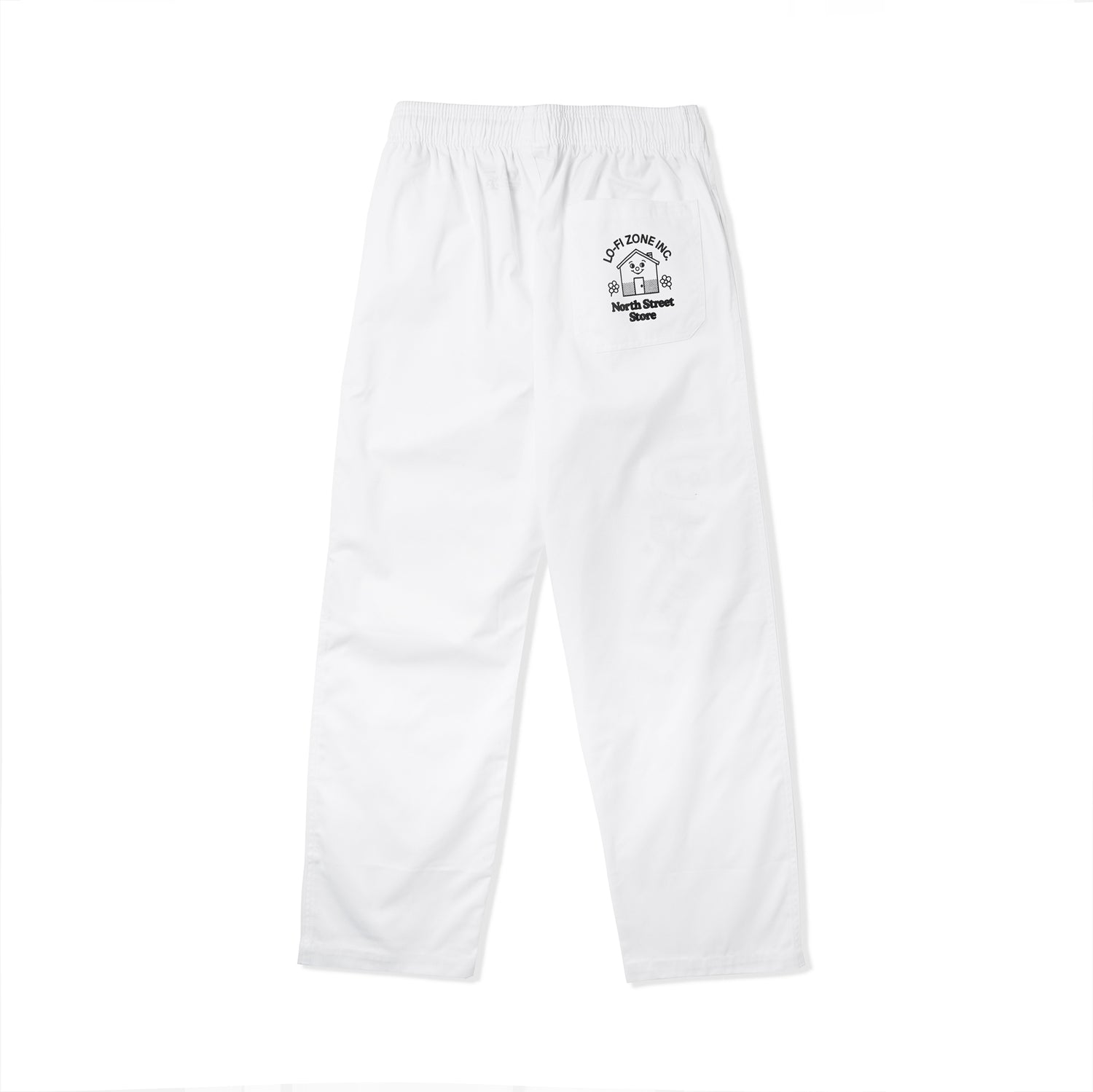Lo-Fi / North Street Store Chef Pants, White