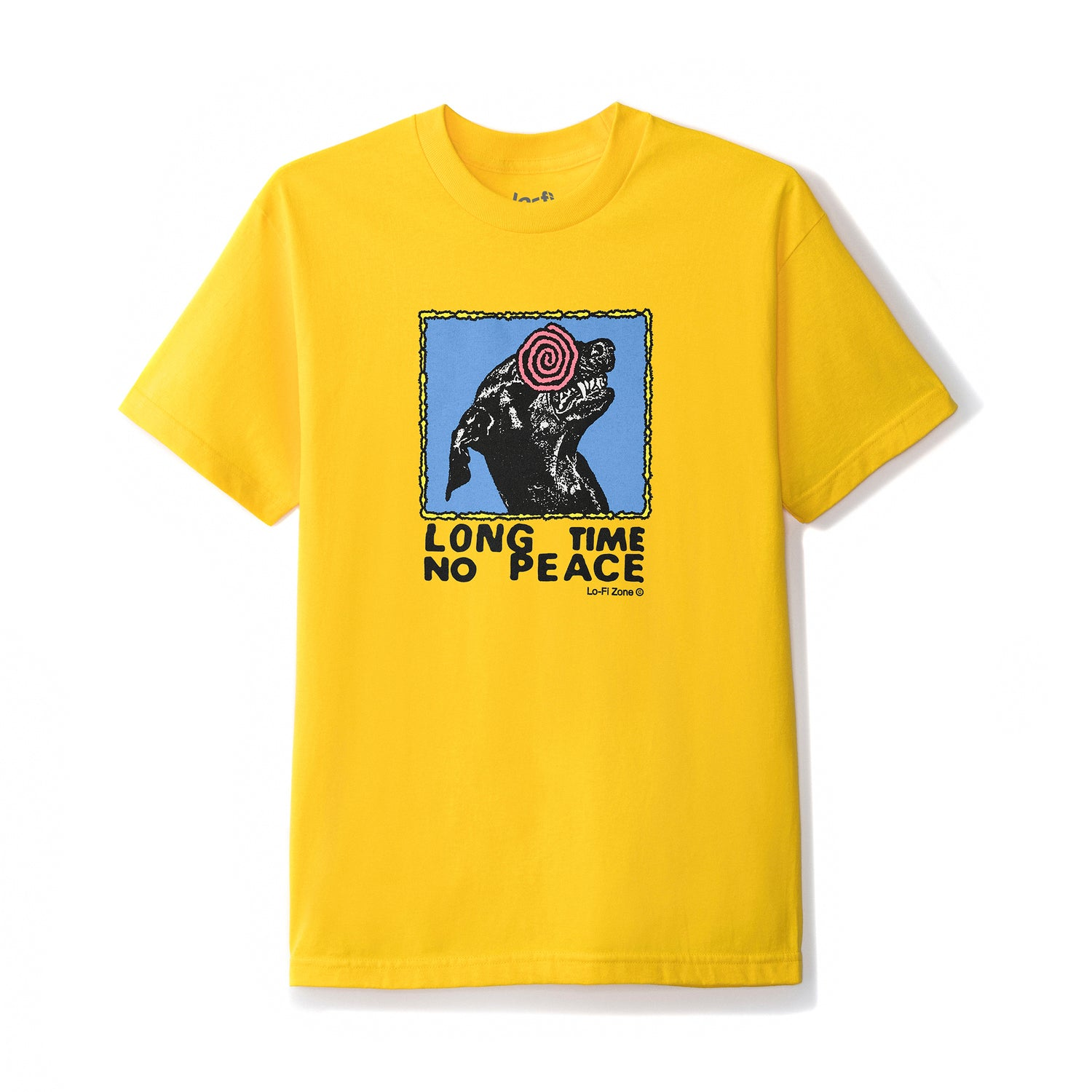 No Peace Tee, Yellow
