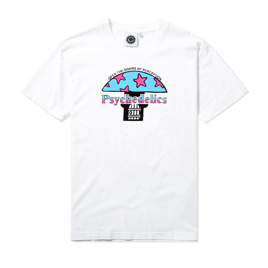 Doors of Perception Tee, White