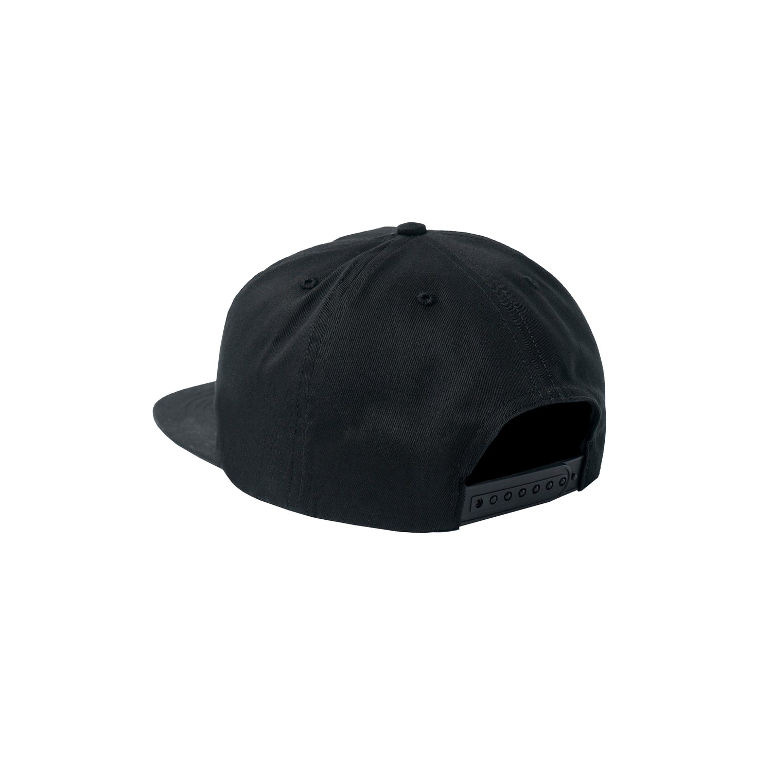 Powers Logo 6 Panel Cap, Black
