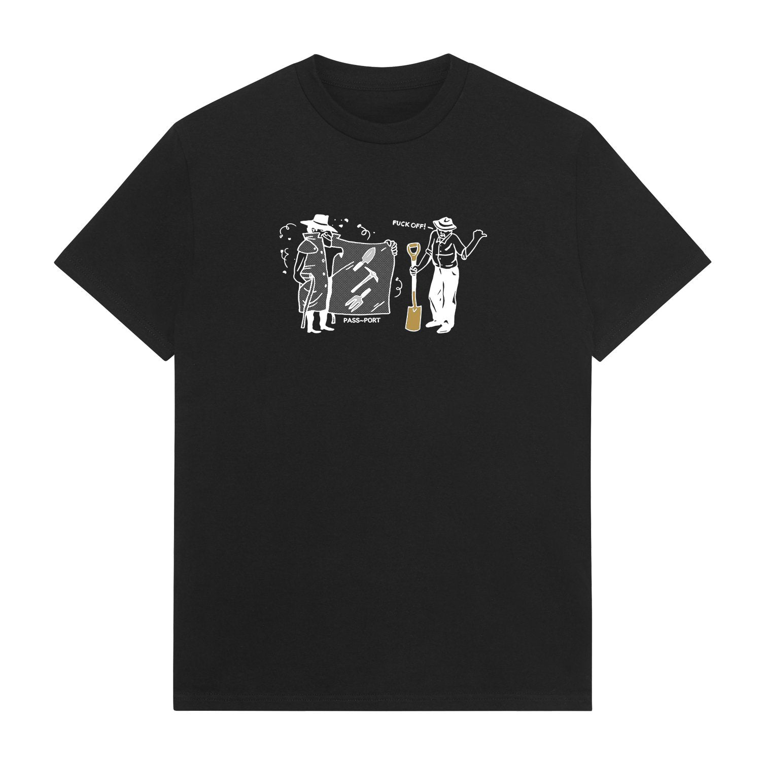 Spades & Shovels Tee, Black