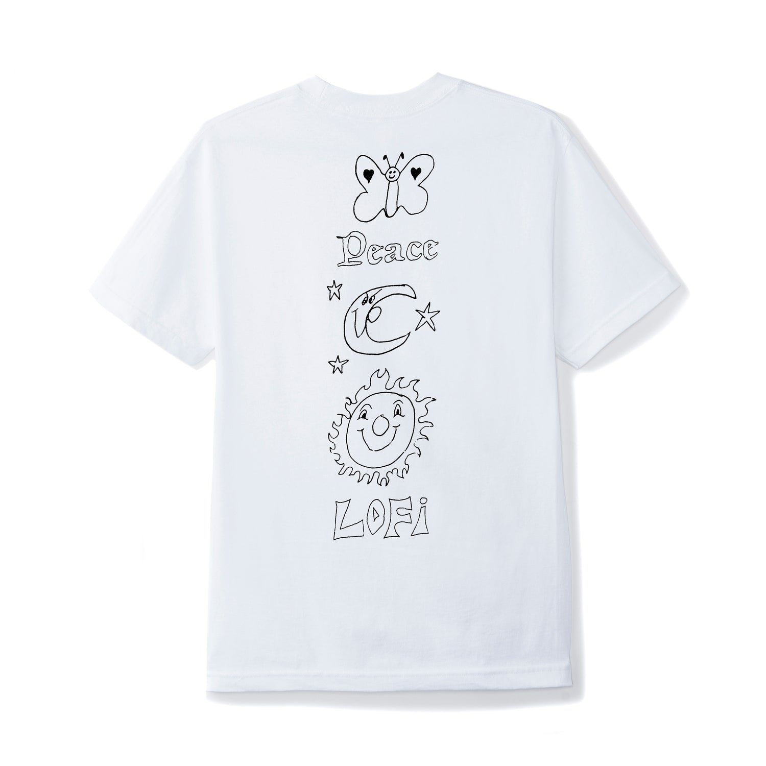Lo-Fi / Stan Ray Peace Tee, White