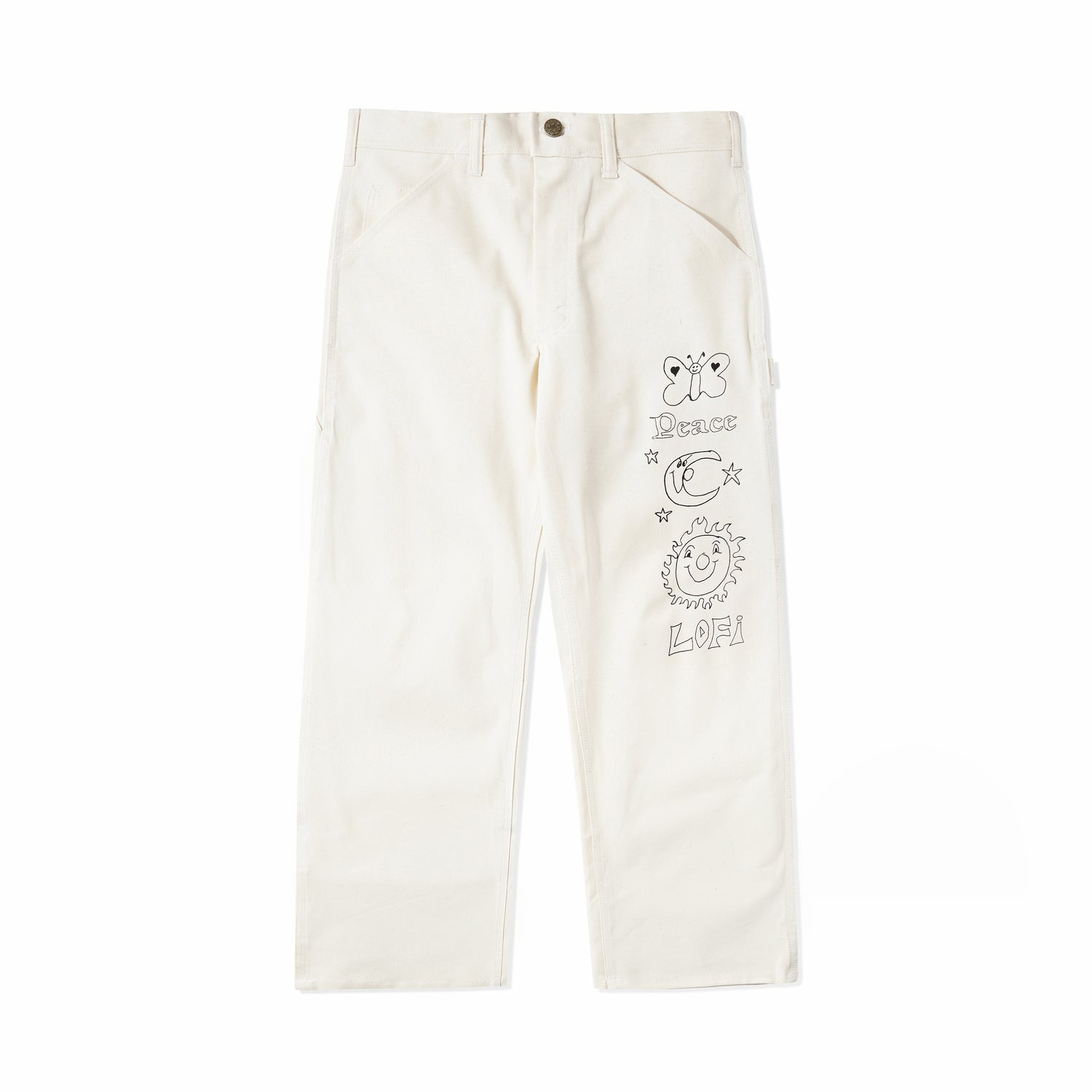Lo-Fi / Stan Ray Peace OG Painter Pant, Natural