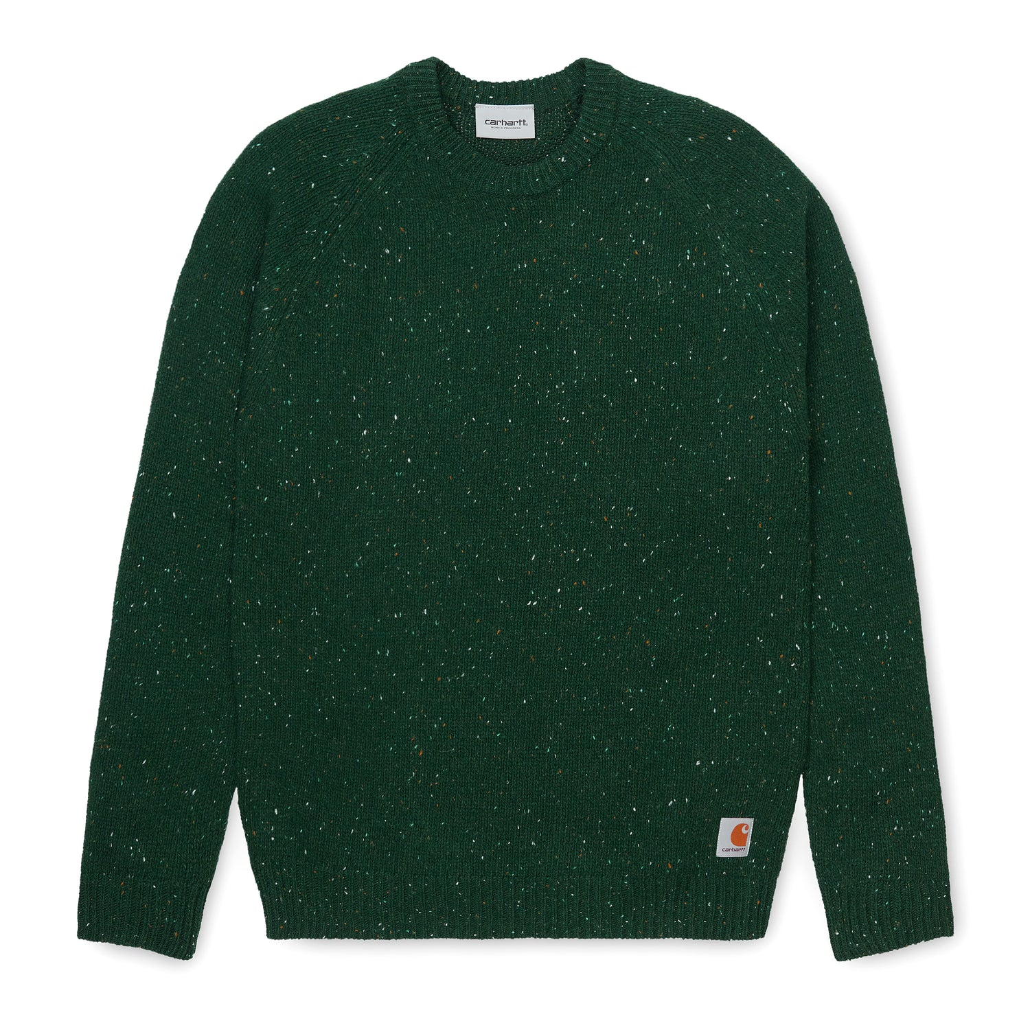 Anglistic Sweater, Bottle Green Heather