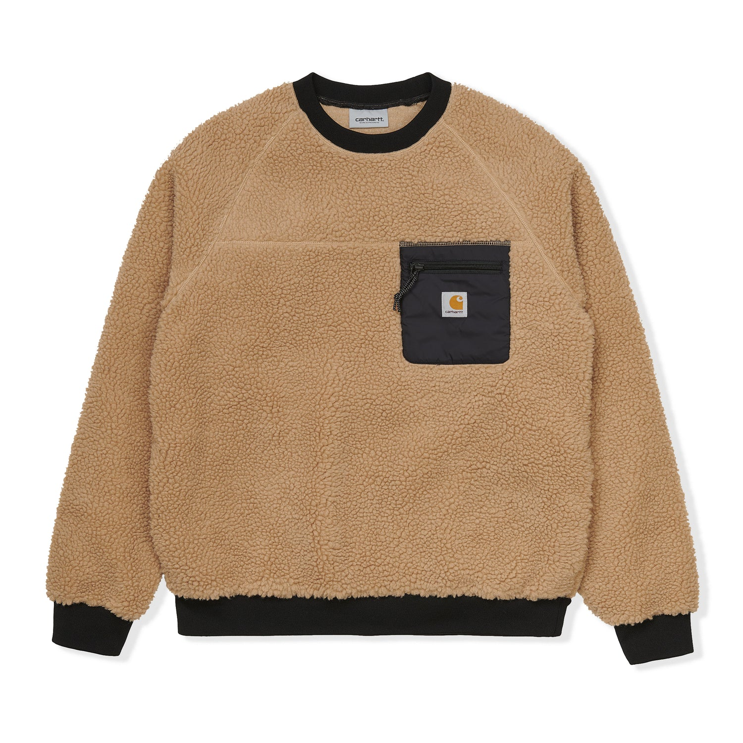 Prentis Crewneck, Dusty H Brown
