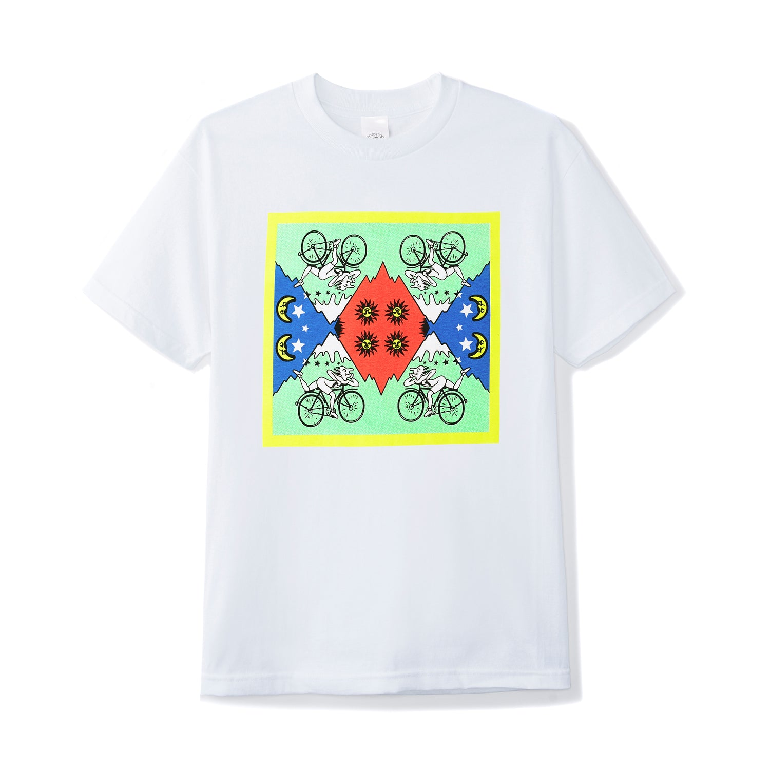 Acid Riders Bandana Tee, White