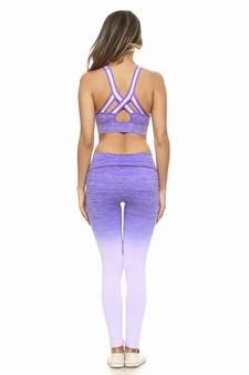 Dynasty Sports Bra- Purple Clothing Fair Shade