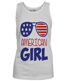 fair-shade - AMERICAN GIRL_4th of July - Custom Tshirt