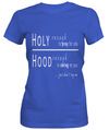 Holy Hands Custom Tshirt Fair Shade SMALL BLUE