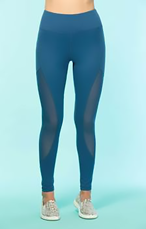 Brie Active Leggings Clothing Fair Shade S Teal 87% Polyester- 13% Spandex