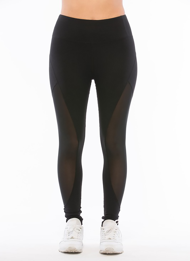Brie Active Leggings (Black) Clothing Fair Shade S Black 87% Polyester- 13% Spandex