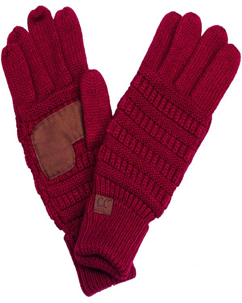 Fancy Gloves CC Brand Burgandy