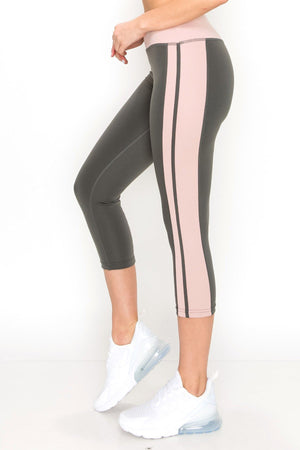Degree of Pink Active Leggings Clothing Fair Shade S Grey 95% poly 5% spandex