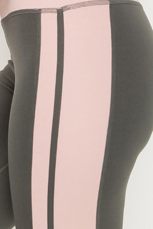 Degree of Pink Active Leggings Clothing Fair Shade