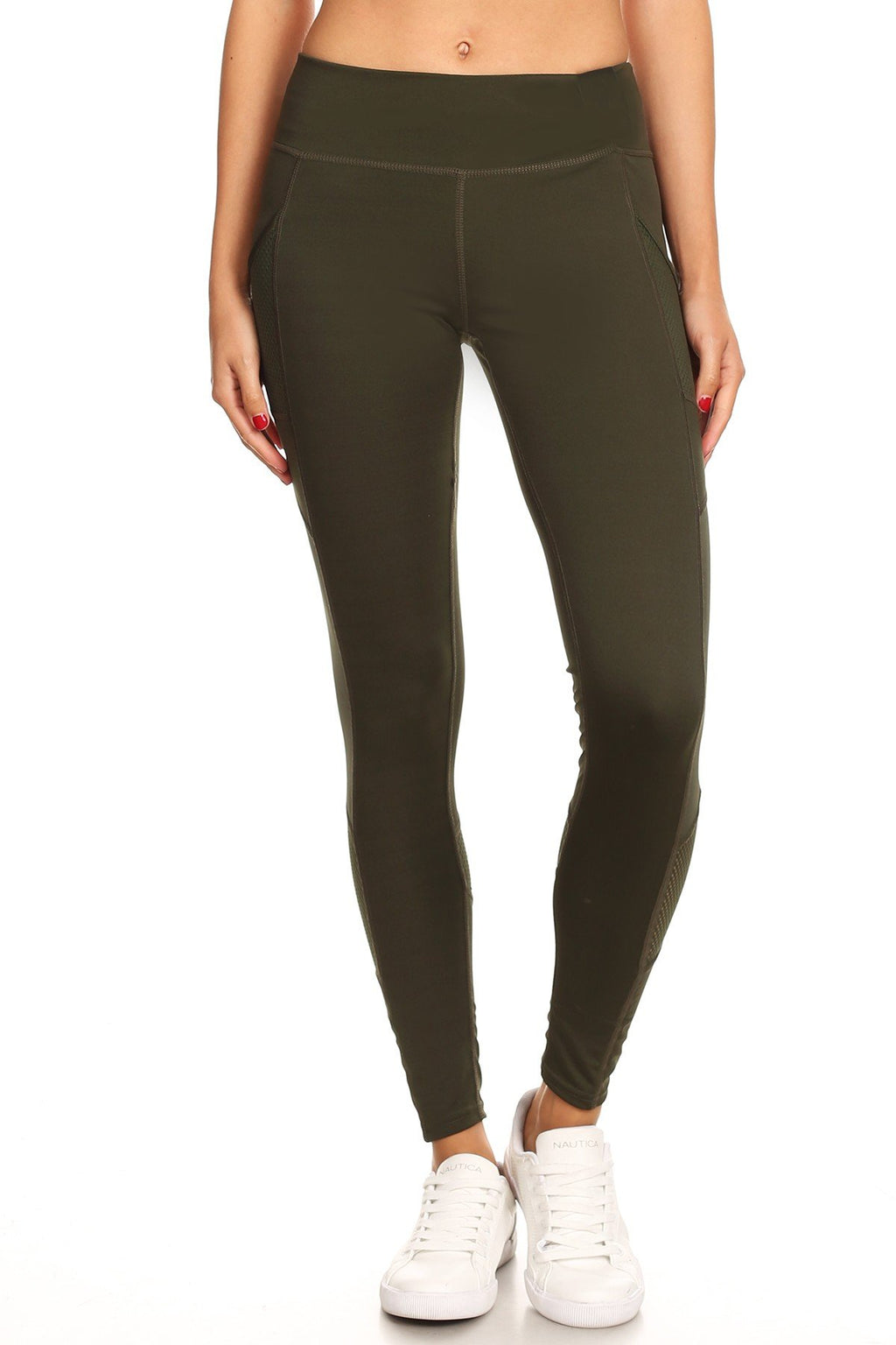Envy Green Active Leggings Clothing Fair Shade S Grey 95% poly 5% spandex