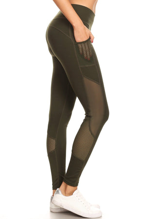 Envy Green Active Leggings Clothing Fair Shade
