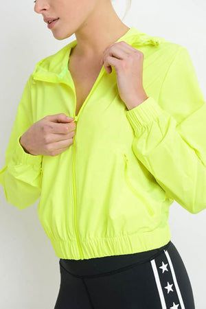 Essential Hoodie Active Jacket Clothing Fair Shade S Neon Yellow