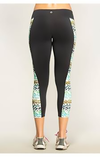 fair-shade - Green Leopard Active Leggings - Clothing
