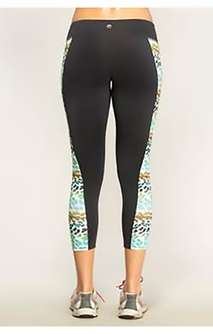 Green Leopard Active Leggings Clothing Fair Shade