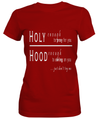 Holy Hands Custom Tshirt Fair Shade SMALL RED