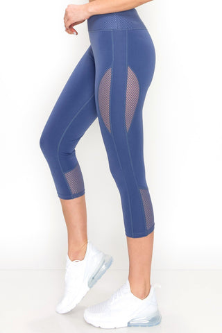ARBOR Capri Active Leggings- Neon Pink