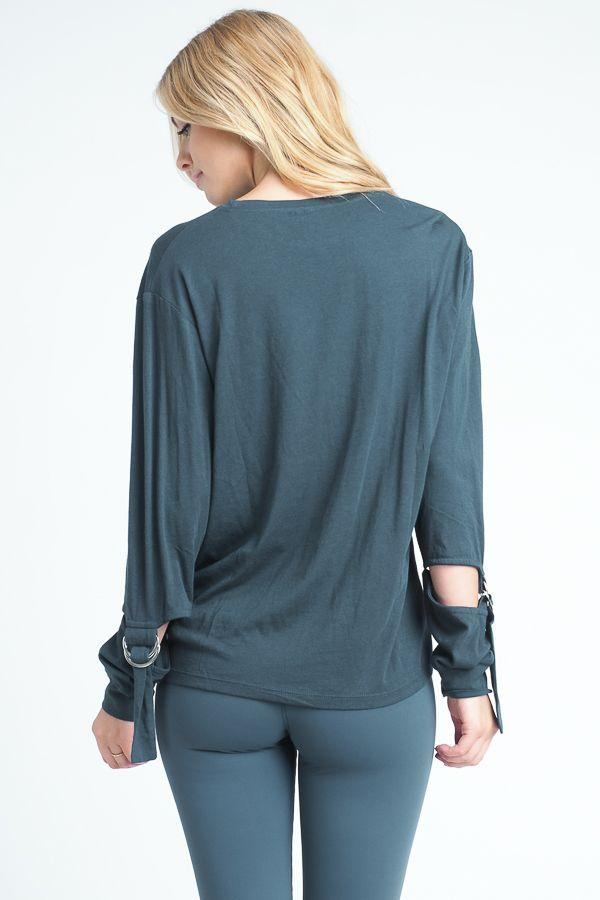 fair-shade - Justeene Top- Teal - Clothing