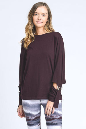Justeene Top- Plum Clothing Fair Shade small Plum