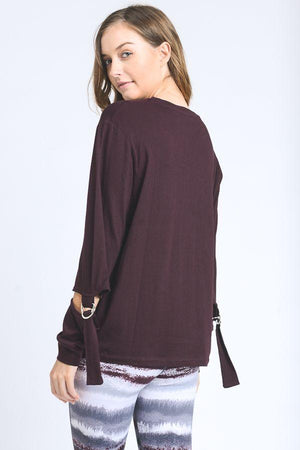 Justeene Top- Plum Clothing Fair Shade