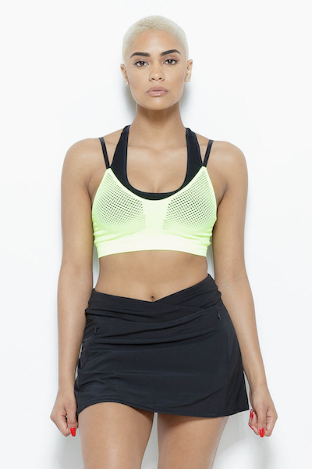 Karma Sports Bra- Acidic Clothing MPG SM Acidic 68% Nylon 20% Polyester 12% Spadex
