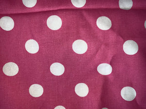 Fun Prints For Kids- Face Masks Fair Shade Child Pink Polka Dots