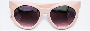 Eye See You-Cat Eye Sunglasses Accessories Fair Shade Pink Lady