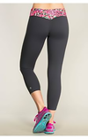 Pink Sunset Leopard Active Leggings Clothing Fair Shade