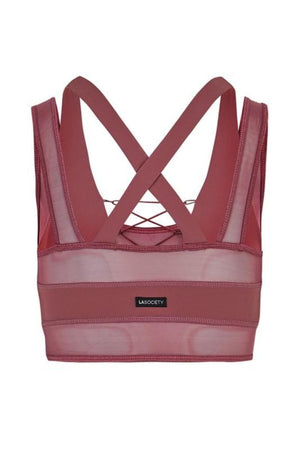 Karissa Sports Bra- Mauve Clothing Fair Shade
