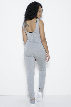 Rochelle Jumpsuit in Grey Clothing Fair Shade
