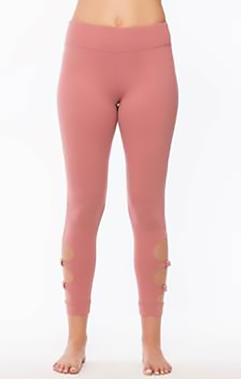 Rosa Performance Leggings Clothing Fair Shade S Rose 87% Polyester- 13% Spandex