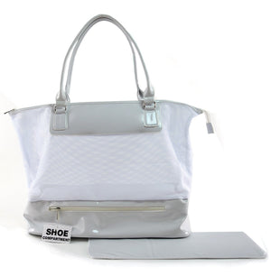 Katie Ray Collection- Duffle Bags Accessories Fair Shade White