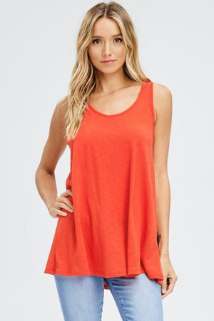 Sport Phase Tank Top- Red Clothing Fair Shade S Red