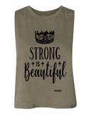 Strong Is Beautiful Muscle Tank Top