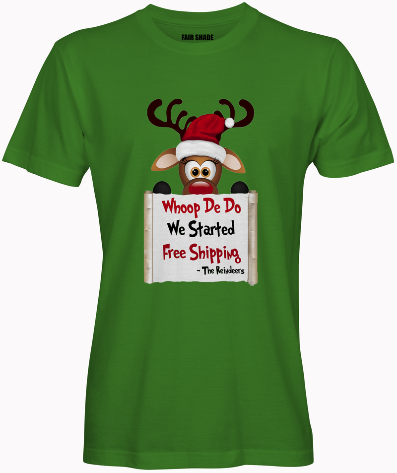 The Reindeers Custom Tshirt Fair Shade S Green