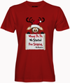 The Reindeers Custom Tshirt Fair Shade S Red