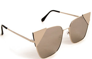 Tia Sunglasses Accessories Fair Shade Gold-Platinum