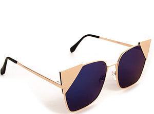 Tia Sunglasses Accessories Fair Shade Gold-Blue