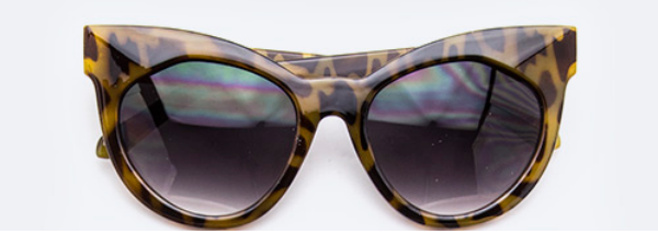 Eye See You-Cat Eye Sunglasses Accessories Fair Shade Tiger Eye