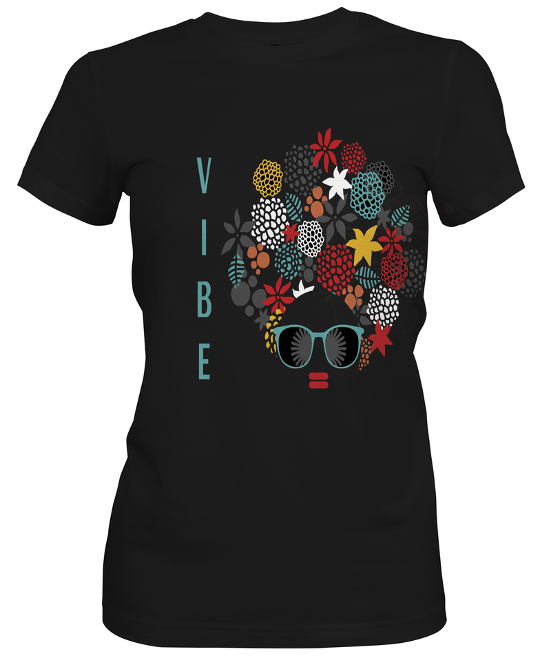 ALL VIBE Custom Tshirt Fair Shade LLC SMALL