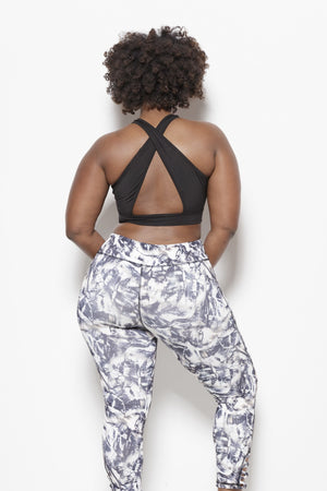 Abstract Love-PLUS - Performance Leggings Clothing Fair Shade