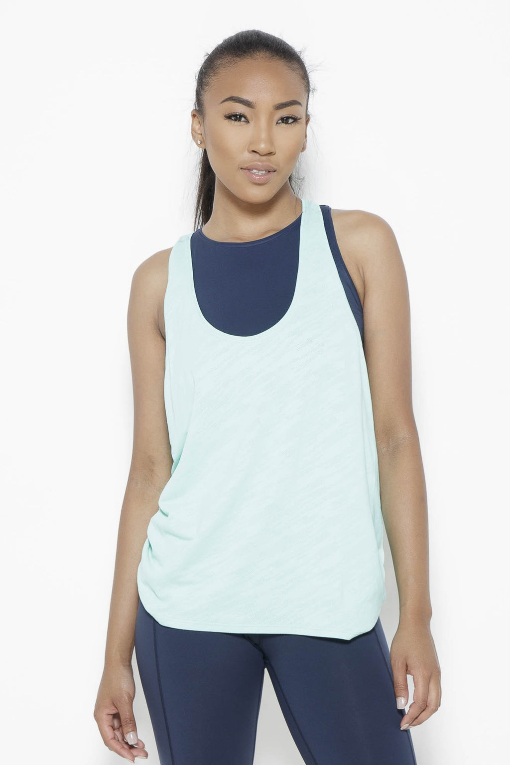 Cool Breeze-Tank Top Clothing Fair Shade OS Turquoise Green 100% Nylon SORBTEK