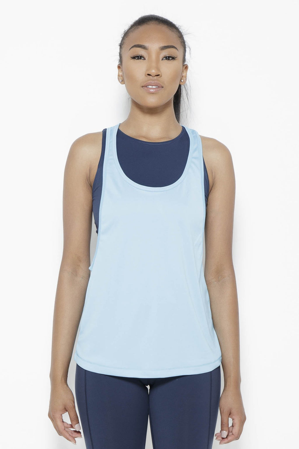 Crater in Arms Tank Top- SurfBlue Clothing Soffe S SurfBlue 100% Polyester