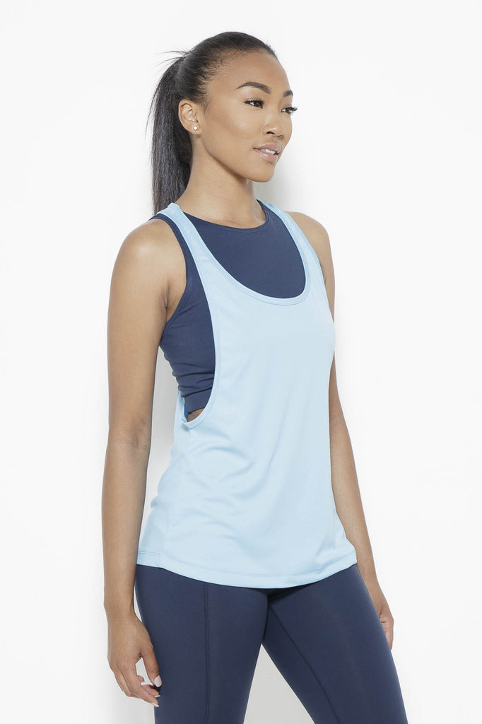 Clothing - Crater in Arms Tank Top- SurfBlue - Fair Shade - 4